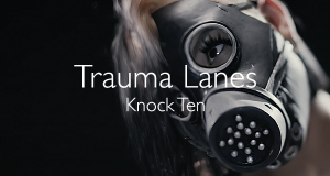 Trauma Lanes music video post hardcore metal thrash tattoos throwin down gas mask guitar shred